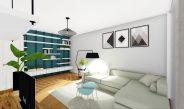 Apartament in Bucuresti – amenajare interioara