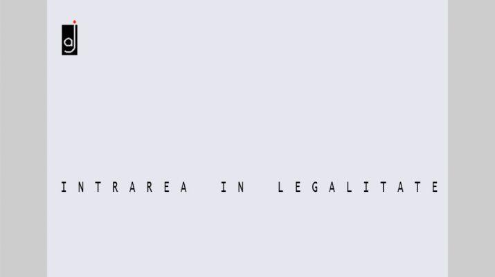 Intrarea in legalitate a constructiilor neautorizate