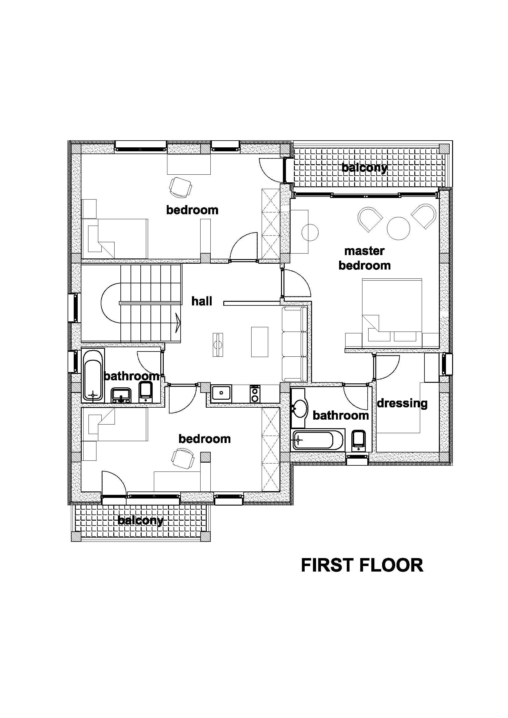 casa in Magurele proiectare
